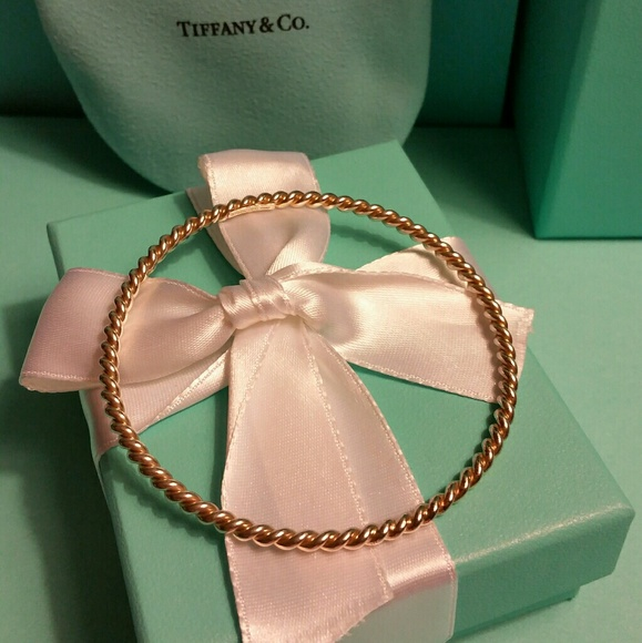 Tiffany & Co. Jewelry - Tiffany & Co. Set Twist Bangle Bracelet & Ring