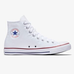 Converse All Star High Tops, White, size 7W/5M