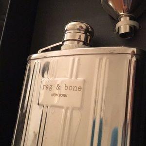 Rag & Bone Flask w/ funnel, BNIB, Great Gift, Rare