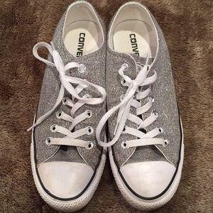 Converse Silver Size 8