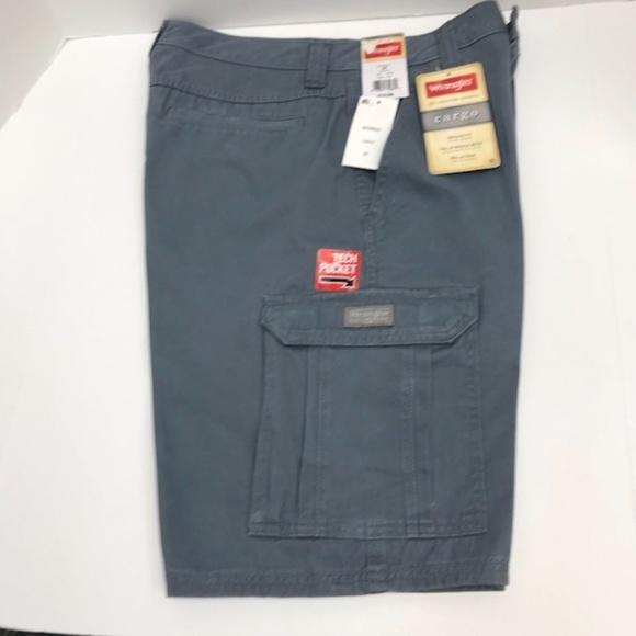 3f86a50704 Wrangler Shorts | Gray Cargo For Men 100 Cotton | Poshmark