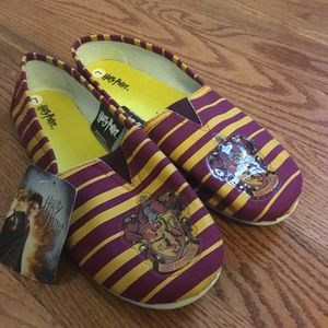Harry Potter Gryffindor Slip on Canvas Shoes