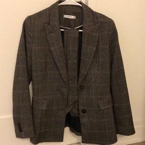MANGO Tweed Suit Jacket