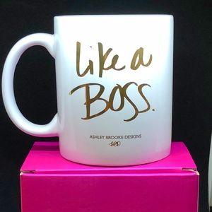 """Like a Boss"" Ashley Brooke Coffee Mug"