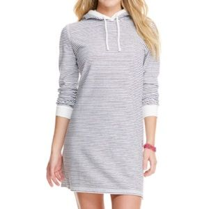 Vineyard Vines Long-Sleeve Striped Hoodie Cover-Up