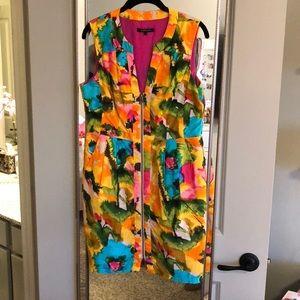 Nanette Laporte Zipper Floral Dress