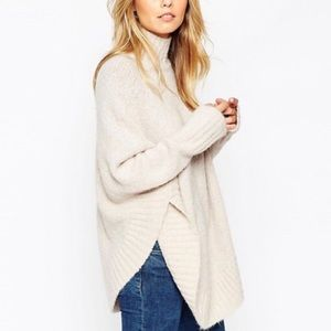Sweaters - ASOS High Neck Sweater Poncho