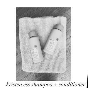 || kristen ess shampoo and conditioner