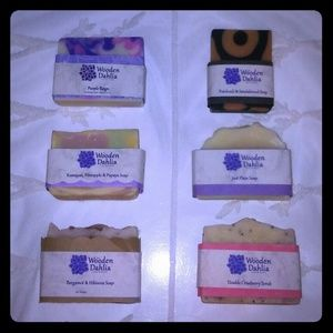 HAND MADE SOAPS...
