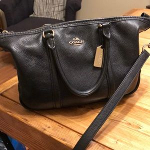 Black Coach bag!! Great condition!