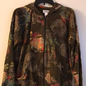 Spa by Chico's Hoodie, Size 1 (Med)