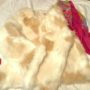 Jackets & Blazers - ***FAUX*** faux fur waist coat