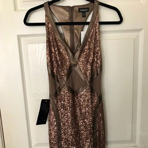 New BEBE sequin sexy dress (With tags!)