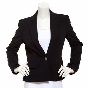 SZ 10 Anne Klein One Button Suit Coat Blazer