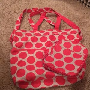 Thirty one bag and lunch bag matching set