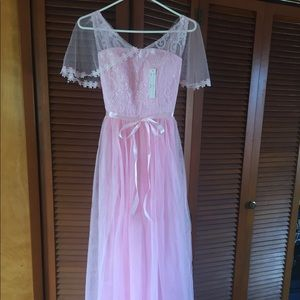 Dresses & Skirts - Pink color Party dress or bridal maid dress