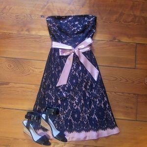 Little black lace dress Arden B