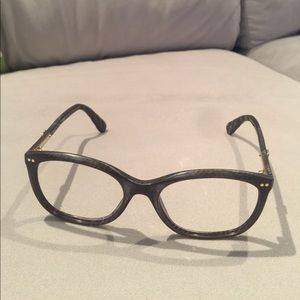Authentic Chanel Glass Frame w/ Box Made in Italy