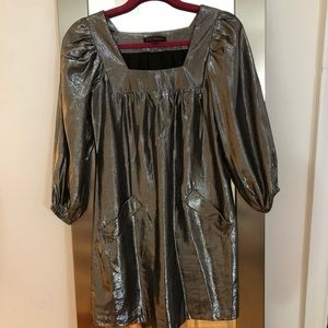 Betsey Johnson Metallic Dress size 0