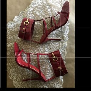 Fire Engine Red Heels