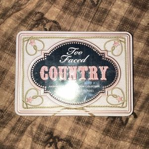 Too Faced COUNTRY Palette
