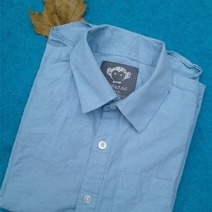 APPAMAN FINE TAILORING Boy's Button-Up Long-Sleeve