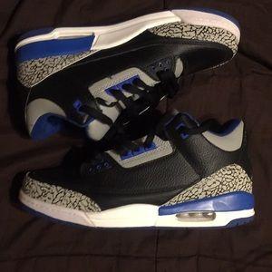 "Jordan true blue 3s (@mikethecompass--""best reps"")"