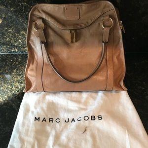 Marc Jacobs Large Wellington beige satchel