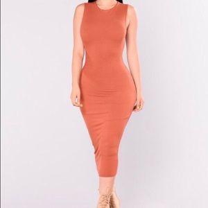 NWT Rust Dress