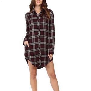 Rocky Woodward plaid dress
