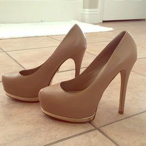 Bebe nude heels