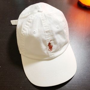 Polo by Ralph Lauren Accessories - White Polo Ralph Lauren Dad Cap PRICE  FIRM 4ca2311ba78