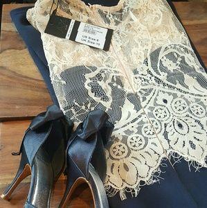 NWT. Gorgeous Occasion Dress. S.Weitzen pumps also