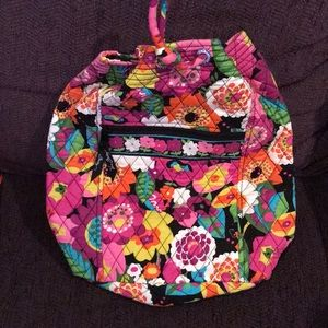 Vera Bradley drawstring backpack