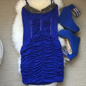 WHOLE OUTFIT! 👗Arden B dress in blue