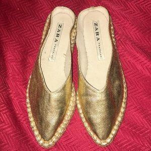 Zara espadrille slip on size 36