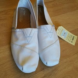 New Toms! Canvas shoes