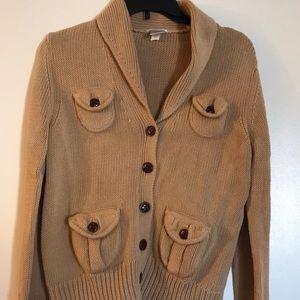 Old Navy cardigan, heavy knit, size L