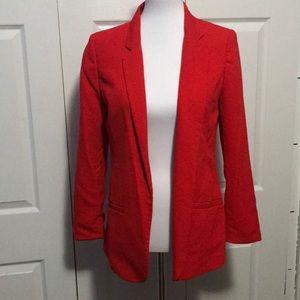 Red H&M blazer