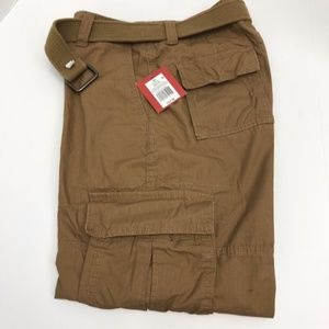 Mossimo Supply Co Brown Cargo Shorts for Men