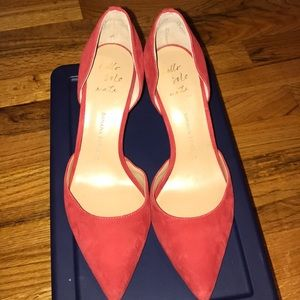 Banana republic red pointed heels