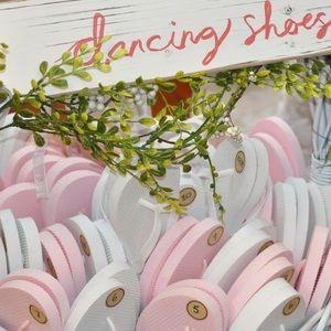 """Bulk of Old Navy flip flops for """"Dancing Shoes"""""""