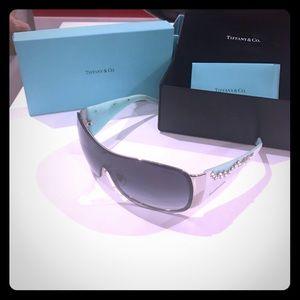 Tiffany & Co Swarovski crystal sunglasses