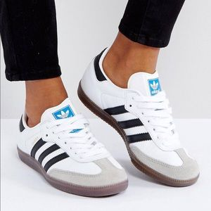 Adidas Originals Samba sneaker in white