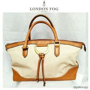 "LONDON FOG ""Benson"" Satchel"