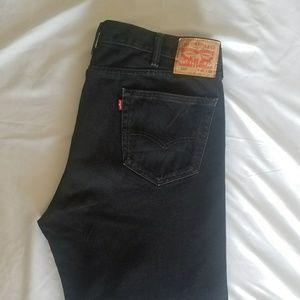 Levis 505 Denim Jeans - Black