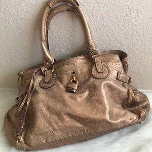Large Chloe paddington lock shoulder bag