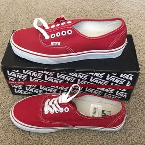 NWT Men's Authentic Vans