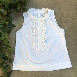 Anthropologie Edmé & Esyllte Sleeveless Blouse
