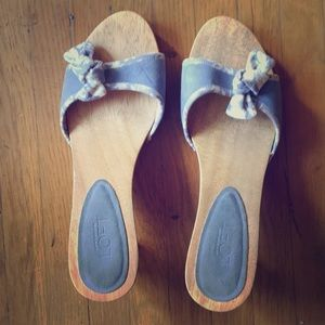 Ann Taylor loft wooden heels